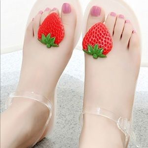 Shoes - Strawberry 🍓 Sandals jelly Katy Perry Melissa 40